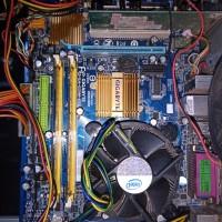 gigabyte ga g31m es2l sepaket ram procesor