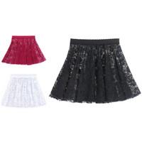 Ballet Lace Skirt Rok Balet Brukat Elastis Anak-Dewasa