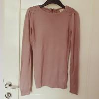 baju blouse knit lengan panjang cantik Pull & bear original branded