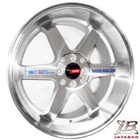 Velg racing ring 17 inch Rep. TE37 TTA JDM mobil Jazz,Avanza,Livina