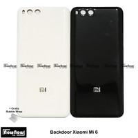 Backdoor Tutup Belakang Baterai Back Cover Casing Xiaomi Mi 6 Mi6