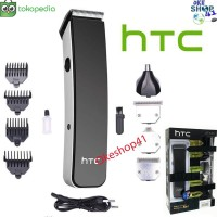Hair Clipper Trimmer HTC AT-1201 Alat Mesin Cukur Rambut Multigroom 5