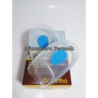 Insole Silicon Silicone Heel Cap / Tutup Silikon OO-131 Dr. Ortho