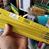 banting harga penggaris kayu lipat 1meter mistar tukang kayu