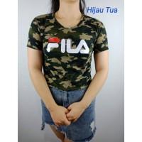 T-shirt fila army cropp