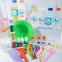 Paket Alat dan Bahan Pembuat Membuat Pembuatan Slime Ki MN4