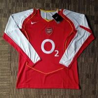 Jersey Retro Arsenal Home 2004-05 Lengan Panjang