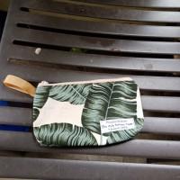 souvenir pernikahan dompet pouch sablon label nama