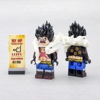 Lego Minifigure Monkey D Luffy Gear Fourth One Piece Original Custom