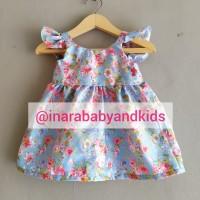 Baju bayi perempuan dress bayi handmade katun newborn