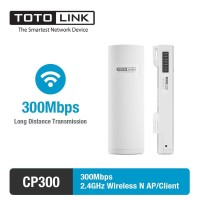 Totolink CP300 2.4GHz 300Mbps Long Range Wireless Outdoor AP CPE