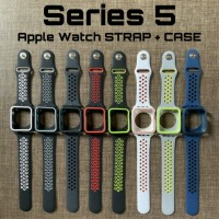 Apple Watch Strap SERIES 4 5 NIKE DESIGN BUMPER + STRAP BAND 40mm 44mm