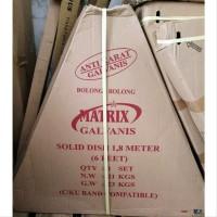 Murah Matrix Galvanis Lubang Bolong Dish Antena Parabola Solid 6 feet