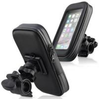 Holder Hp GPS Waterproof (Anti Air) di Stang Sepeda/Motor 6.3