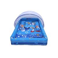 Kasur Bayi Kelambu Tempat Tidur Bayi Karakter Doraemon Murah CTH 013