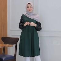 Versace Tunic - Hijab Tunik Muslim Murah - Baju Atasan Wanita Terbaru