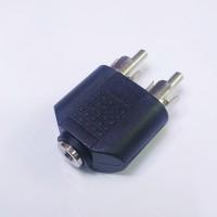 Jack Konektor Aux F / Cover Mini Stereo 3.5mm to 2RCA M