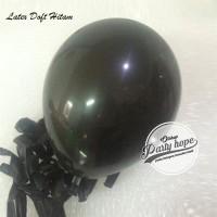 Balon Doft Hitam / Balon Doff / Balon Warna Hitam / Balon Karet Polos
