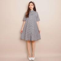 DRESS SQUARE HEQU (122) - Pakaian Wanita Dress Square