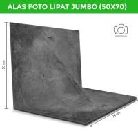 Alas Foto Lipat Jumbo Semen 50x70cm / Background Foto Besar (CLJ-01)
