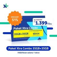 XL Xtra Combo 35 GB + 35 GB - 12 Bulan