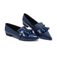 Sepatu Wanita Vicari Nadine Biru Tua-V1AA8024