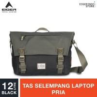 Eiger 1989 Wanderer Shoulder Bag 12 Laptop Shoulder Bag 12L - Black