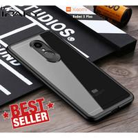 iPaky Case Xiaomi Redmi 5 Plus Shield Armor Bumper Transparent Clear