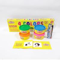 Mainan FunDoh Refill 4 Warna / Colors Mainan Edukasi Anak Play Doh
