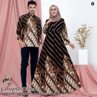 batik couple gamis mama papa batik couple kemeja baju pasangan 058