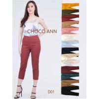 CHOCO ANN PANTS ( Zipper Samping )
