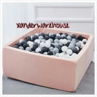 BALLPIT KOTAK Handmade Premium - Kolam Bola Mandi Mainan Anak
