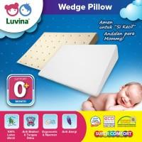 Luvina Bantal Santai Bayi Latex / Wedge Pillow