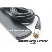 Antena Router SMA Female Penguat Sinyal Router GSM Kabel 3 Meter