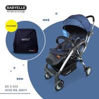 Stroller Bayi Baby Elle Avio RS BS S 939 - Navy