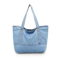 MHBD Mini Tote Hand Bag Denim Tas Jinjing Jeans Wanita Kanvas Cewek