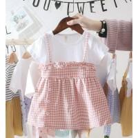 Termurah ! babyfit BR1 baju dress APRONE mini dress baju anak