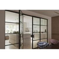 Pintu kaca minimalis penyekat ruangan
