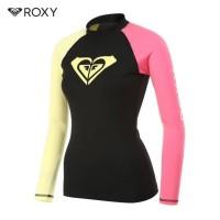 pabrik baju zumba fitness senam renang RASHGURD ROXY SHAKA 2 WOMENS