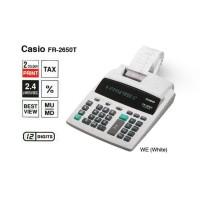 === Casio FR-2650T - Printing Kalkulator Calculator Struk Kertas FR