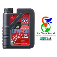 PALING LARIS Liqui Moly Motorbike 4T Synth 10W 50 Street Race made in