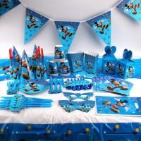 New Piring Desain Mickey Mouse untuk Dekorasi Pesta Ulang Tahun Anak