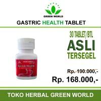 New Green World Gastric Health Tablet - Obat herbal untuk p bgr22