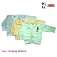 Adora BBK Hachi Baby Baju Panjang Anak Bayi Warna Polos Size 14