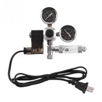G5/8 Aquarium System Dual Gauge CO2 Auto Pressure Regulator