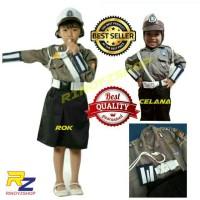GROSIR Baju Polwan Anak /Seragam Polwan Anak/ Polisi Wanita Cilik