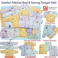 Perlengkapan Bayi Setelan Celana Baju Gift Set Baby Newborn Unisex
