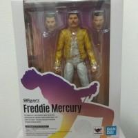 action figure Bandai Queen SHF Freddy Mercury new box