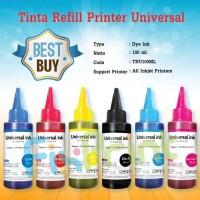 Tinta refill isi ulang Cartridge Printer Canon Ts207 Ts307 Ip2770 E400