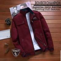 jaket bomber pria / bomber champion style terbaru premium